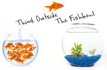 Think Outside the Fishbowl